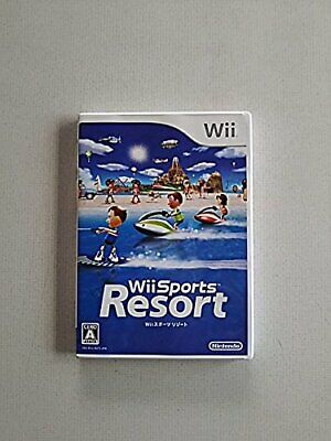 USED Nintendo Wii Sports Resort Soft Only 70985 JAPAN IMPORT