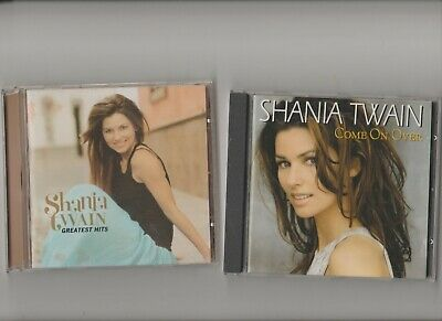 Shania Twain : Come On Over + Greatest Hits / TWO CD Albums