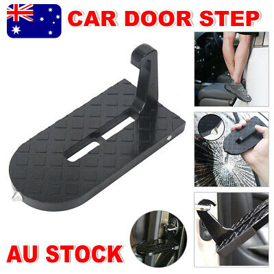 Doorstep Car Door Latch Step Foot Pedal Ladder For Jeep SUV Truck Roof Folding