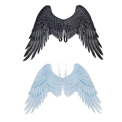 Unisex Adult Halloween Cosplay Large Angel Wings Carnival Party Costume Props AU