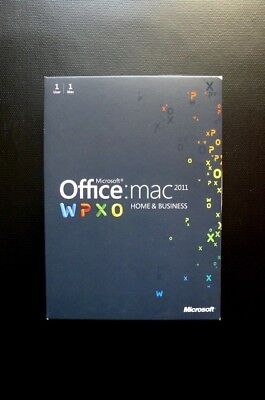 Microsoft Office for Mac 2011 Home and Business Word Outlook.. (DOWNLOAD or DVD)