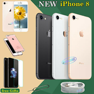 Apple iPhone 8 Unlocked SIM Free 64GB 256GB NEW Smartphone Various Colours UK