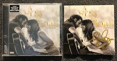Autographed/Signed Lady Gaga - A Star Is Born CD Album Soundtrack *Charity**