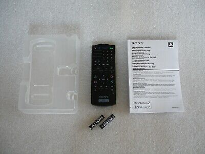 Sony PlayStation 2 DVD Remote Control SCPH-10420 PS2 Genuine Original Official