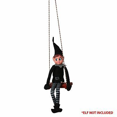 Elf Accessories Props Swing Seat Swinging Hanging Decor Christmas Naughty Elves