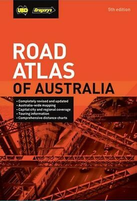 NEW Road Atlas of Australia 5th ed By UBD Gregory's Spiral Ringed Book