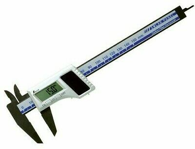 Shinwa Digital Calipers Carbon Fiber 150mm Solar Panels 19981 JAPAN