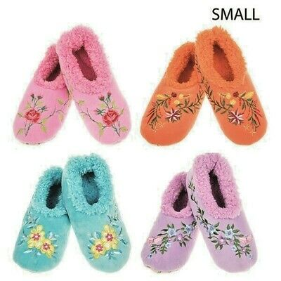 Snoozies  washable soft cosy  Slippers Dots /& spots Colours assorted New