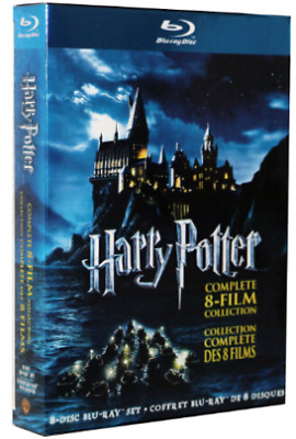 Lot of 2 Harry Potter Complete Collection -Blu-ray (8 Discs) - Brand New