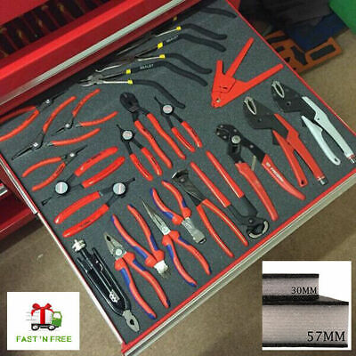 Kaizen Foam Tool Organiser Sheets - Desk Tidy | Tool Box Storage | Arts & Crafts