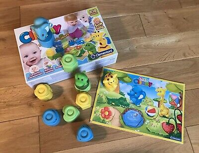Clementoni BABY CLEMMY - ANIMALS SHAPES AND COLOURS