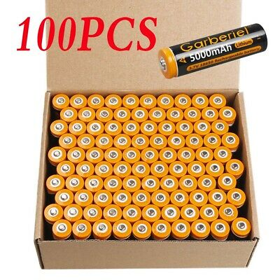 Lot Garberiel 5000mAh 18650 3.7V Li-ion Rechargeable Battery Cell For led Torch