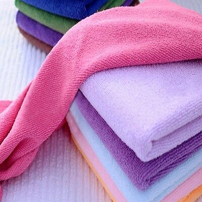 10P 30*30 Microfiber Kitchen Cloths AutoCar Home Dry Polishing Cleaning Towels