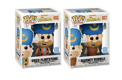 Funko Shop Exclusive Fred Flinstone & Barney Rubble 2 PACK Confirmed Order