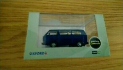 Cornat Blue//Guinea Blue  1:76 Oxford Diecast Model Car British VW T25