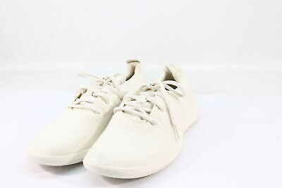 Allbirds Men's Wool Runners Natural White Sole Comfort Shoes NW/OB