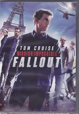 DVD Mission Impossible Fallout avec Tom Cruise Neuf Scellé 2018