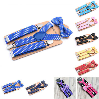 Children Suspenders Kids Toddlers Wedding Y-Back Stylish Boys Suspenders