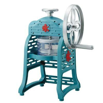DOSHISHA Manual Fluffy Snow Shaved Ice Machine Maker Classic Look Japan IS-FY-18