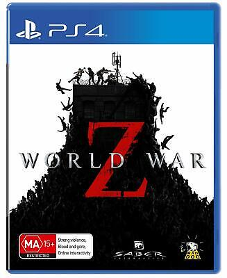 World War Z PlayStation 4 PS4 GAME BRAND NEW FREE POSTAGE Zombie Co-op Shooter