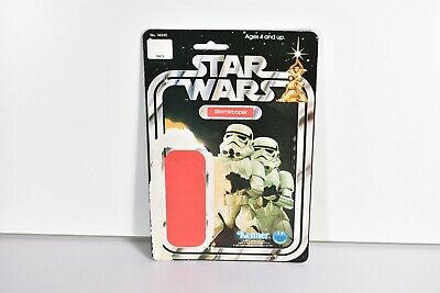 New /& Vintage Style Star Wars or GI Joe Carded Figures 40 x Protech Star Case