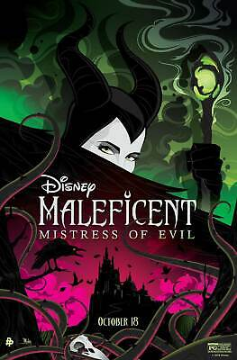 20x30 24x36 Poster Maleficent Mistress of Evil Movie Y76