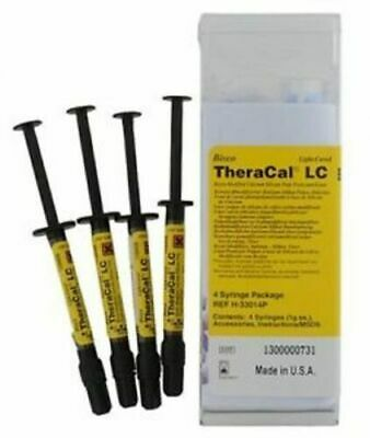 Bisco TheraCal LC Resin-Modified Calcium Silicate Pulp Protectant Line 4 Syringe