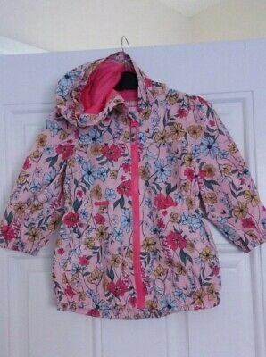 Girls Nutmeg flowery Pink/multicolored jacket 2-3 Years