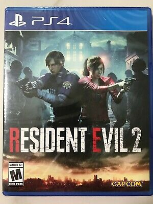 Resident Evil 2 PS4 Standard Edition Brand New Sealed Fast Ship w Tracking