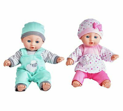 Chad Valley Babies To Love Talking Twin Dolls-Christmas Offer