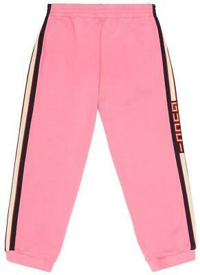 Gucci Kids Unisex Striped Cotton Track Pants 5 Years