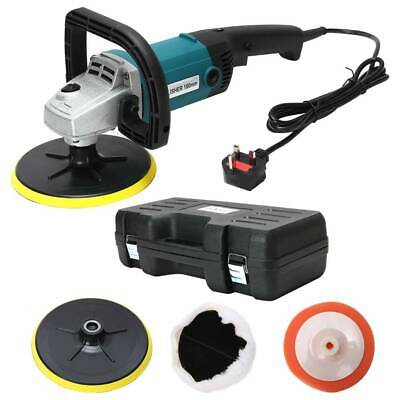 Polisher Car Sander Buffer Polishing Machine Kit1400w Variable Speed+Sponge Kit