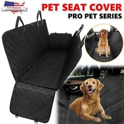 Waterproof Dog Car Seat Cover Hammock for Pet SUV Van Back Rear Bench Pad Mat MY