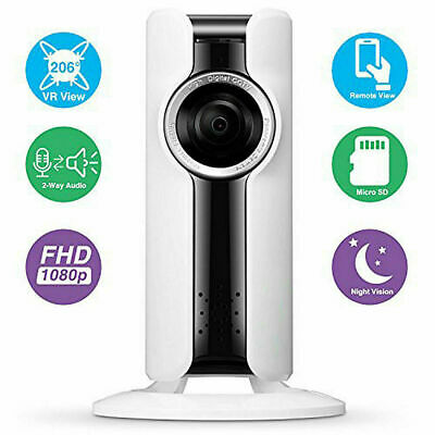 Vr Cam Telecamera P2P Wifi Wireless Full Hd Interno Ir Camera Spia Ip 2 Mpx