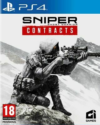 Sniper Ghost Warrior Contracts (PS4) Free UK P&P New & Sealed