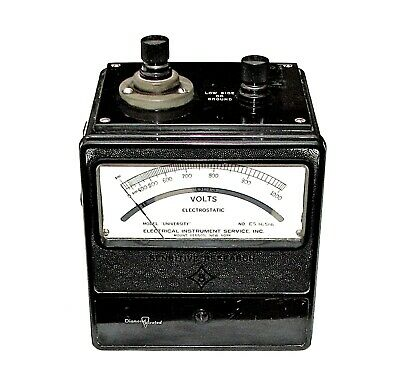 "Sensitive Research Instrument Corp Watts Meter Model ""University"" ES-16516 USA"