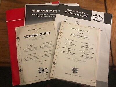 Pages *Watch Repair Course* Bulova School of Watchmaking  300 CD
