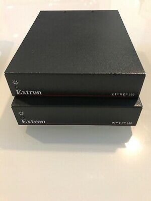 Extron DTP T /R DP 230 Transmitter And Receiver For DisplayPort