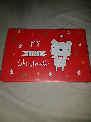 My First Christmas Photo Album  Unisex Boys Girls Gifts 🎁