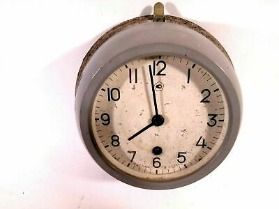 Boat Ship Watch Submarine Cabin Wall Clock Navy Military Vintage USSR L