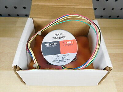 Vexta PH265-02 Stepping Motor 2-Phase 1.8Deg/Step DC 12V 0.42A