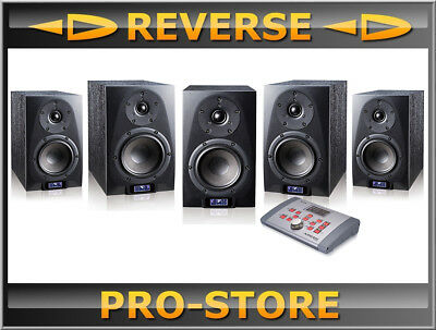 Icon Surround Set 5.0 Profi Studio Set Monitor Studiomonitor Lautsprecher Aktiv