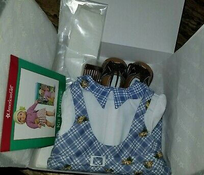 AMERICAN GIRL Kit Blue School Outfit ~ Retired Set ~ Brand NEW in the Box