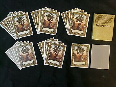 29 Vintage Antioch Bookplates Original Box Tree in the Wood Christopher Manson