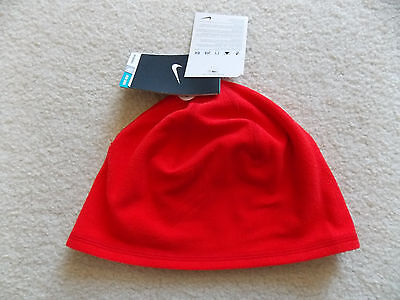 NWT NEW WITH TAG Nike Dri-Fit Reversible Run Beanie Cap Hat Womens One Size