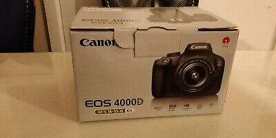 Canon EOS 4000D 18.0 MP Digital SLR Camera - Black (Kit with EF-S 18-55 mm...