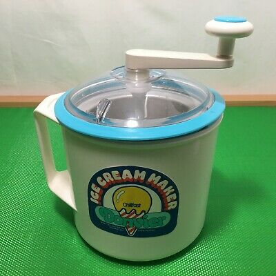 Donvier Ice Cream Maker Chillfast Made in Japan No Electricity No Salt No Ice