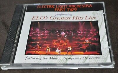 Electric Light Orchestra Part Two - Greatest Hits Live CD 1992 Attic Canada
