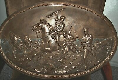 Gallipoli Landing  Silicon Rubber Mould molded from original 1915 Wall Plaque