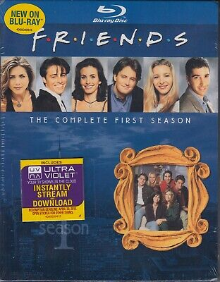 FRIENDS: COMPLETE FIRST SEASONBluray DVD/Blu-ray NEW SEALED